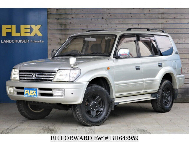 2000 Toyota Land Cruiser Prado 2 7tx Limited Gf Rzj95w Bh642959 Usados En Venta Be Forward