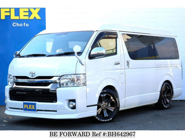 Used 2018 TOYOTA HIACE VAN BH642967 for Sale