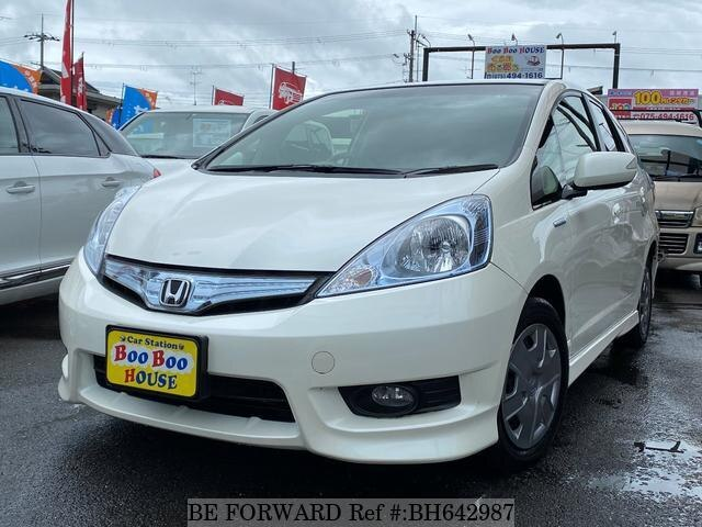 Used 2013 HONDA FIT SHUTTLE HYBRID BH642987 for Sale
