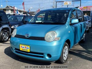 Used 2003 TOYOTA SIENTA BH643006 for Sale