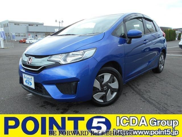 Used 2013 HONDA FIT HYBRID BH643173 for Sale