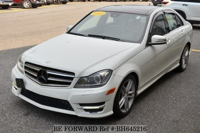 Used 2012 MERCEDES-BENZ C-CLASS BH645216 for Sale