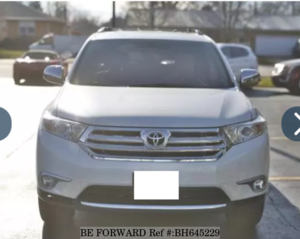 Used 2012 TOYOTA HIGHLANDER BH645229 for Sale