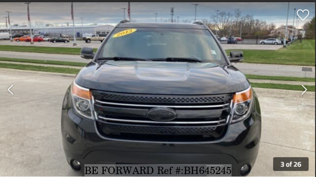 Used 2013 FORD EXPLORER BH645245 for Sale