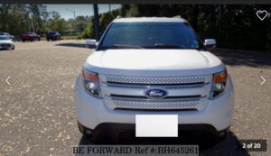 Used 2013 FORD EXPLORER BH645261 for Sale