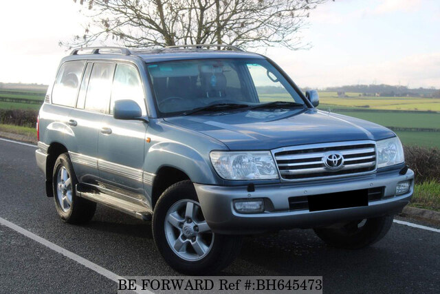 Used 2007 TOYOTA LAND CRUISER AMAZON BH645473 for Sale