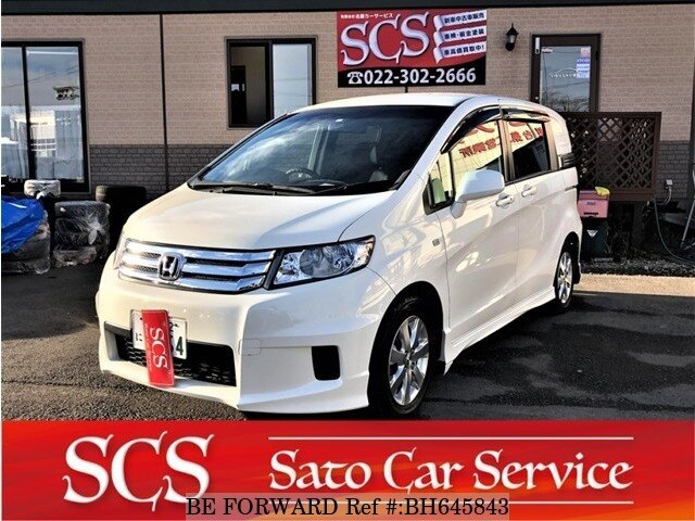 Used 2011 HONDA FREED SPIKE BH645843 for Sale