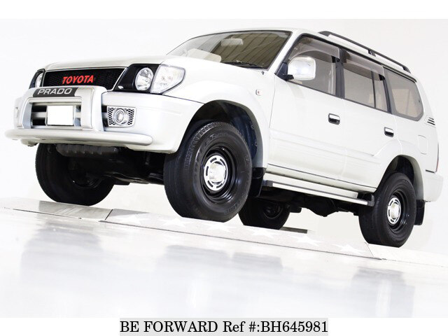 Used 1999 TOYOTA LAND CRUISER PRADO BH645981 for Sale