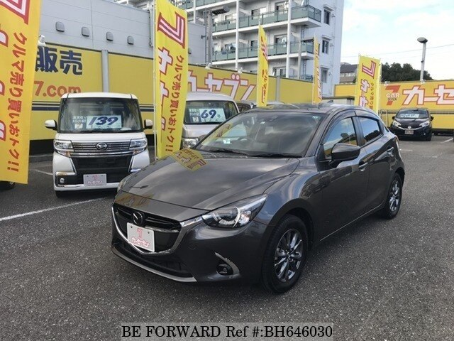 Used 2017 MAZDA DEMIO BH646030 for Sale