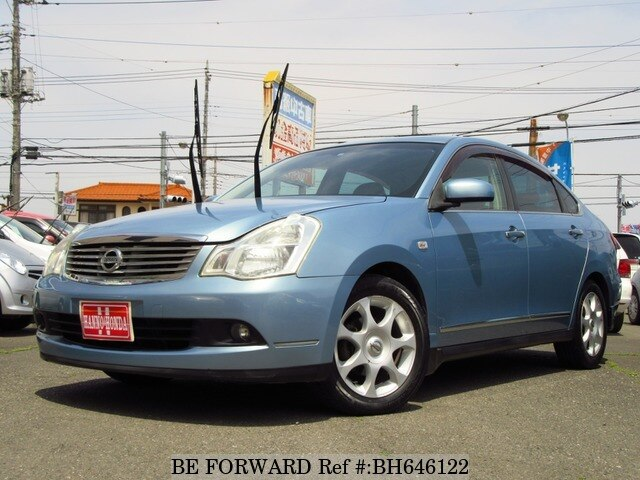 Used 2006 NISSAN BLUEBIRD SYLPHY BH646122 for Sale