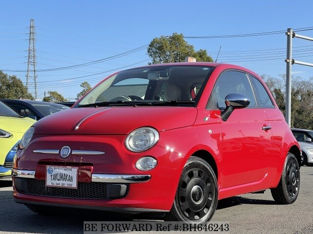 Used 2011 FIAT 500 BH646243 for Sale