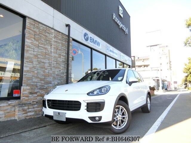 Used 2016 PORSCHE CAYENNE BH646307 for Sale