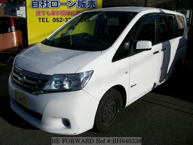 Used 2013 NISSAN SERENA BH646338 for Sale