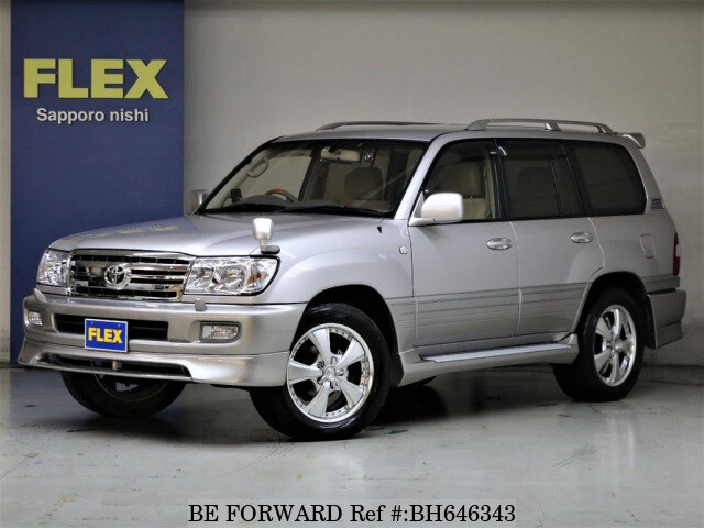 Used 2002 TOYOTA LAND CRUISER BH646343 for Sale