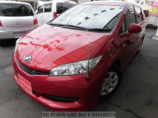 Used 2009 TOYOTA WISH BH646375 for Sale