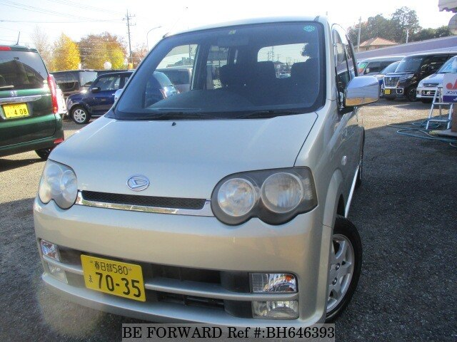 Used 2003 DAIHATSU MOVE CUSTOM BH646393 for Sale