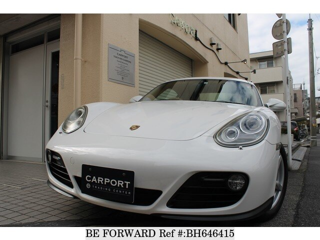 Used 2010 PORSCHE CAYMAN BH646415 for Sale