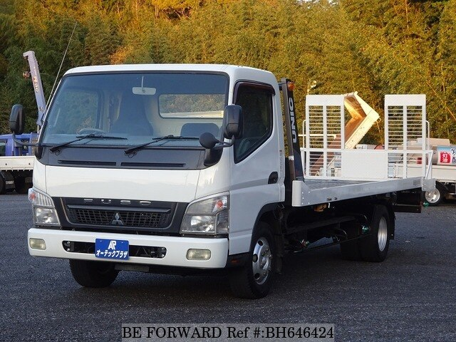 Used 2010 MITSUBISHI FUSO CANTER BH646424 for Sale