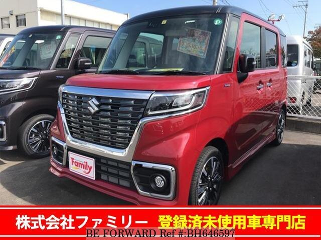 Used 2020 SUZUKI SPACIA BH646597 for Sale