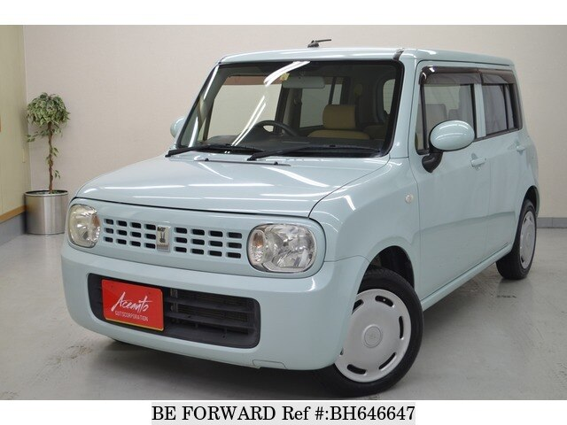 Used 2010 SUZUKI ALTO BH646647 for Sale