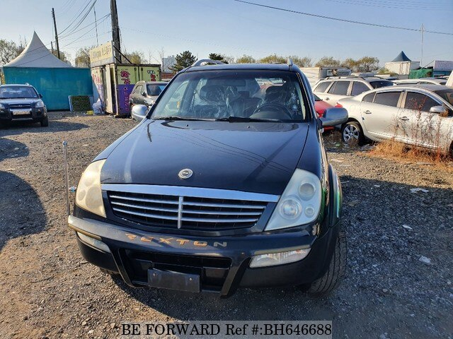 Used 2004 SSANGYONG REXTON BH646688 for Sale