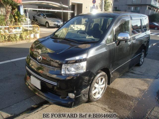 Used 2009 TOYOTA VOXY BH646695 for Sale