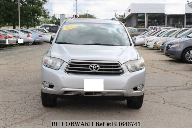 Used 2008 TOYOTA HIGHLANDER BH646741 for Sale