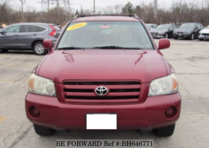 Used 2006 TOYOTA HIGHLANDER BH646771 for Sale