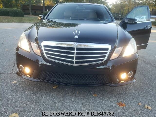 Used 2010 MERCEDES-BENZ E-CLASS BH646782 for Sale