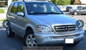 Used 2002 MERCEDES-BENZ M-CLASS BH646852 for Sale