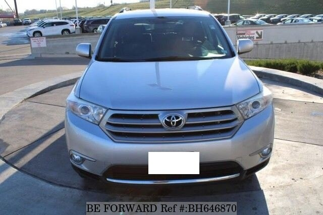 Used 2013 TOYOTA HIGHLANDER BH646870 for Sale