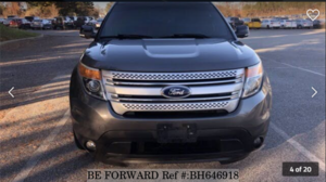 Used 2014 FORD EXPLORER BH646918 for Sale