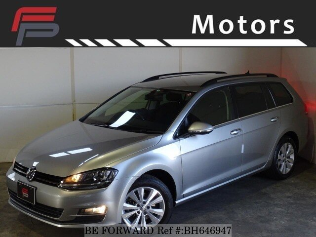 Used 2013 VOLKSWAGEN GOLF VARIANT BH646947 for Sale