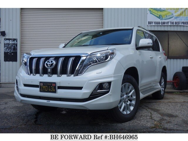 Used 2015 TOYOTA LAND CRUISER PRADO BH646965 for Sale