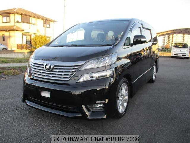 Used 2009 TOYOTA VELLFIRE BH647036 for Sale