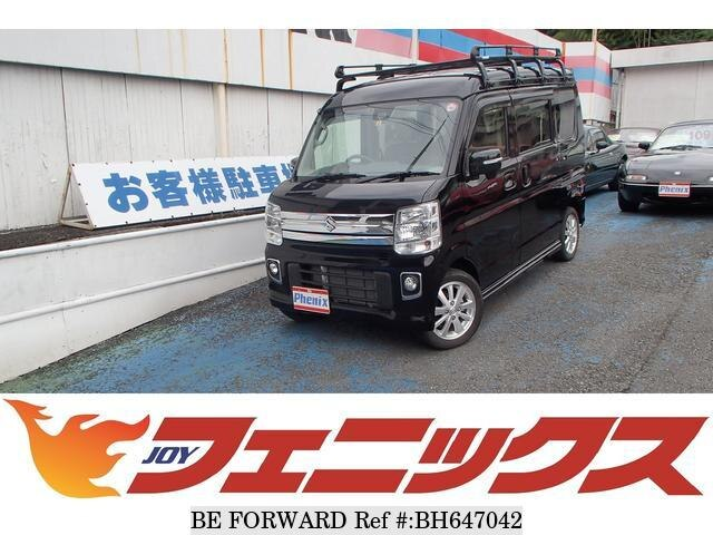Used 2019 SUZUKI EVERY WAGON BH647042 for Sale