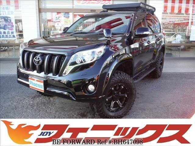 Used 2016 TOYOTA LAND CRUISER PRADO BH647098 for Sale