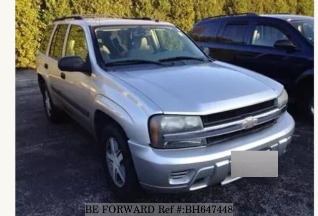 Used 2005 Chevrolet Trailblazer Ls For Sale Bh647448 Be Forward
