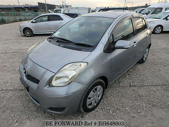 Used 2008 TOYOTA VITZ BH648003 for Sale