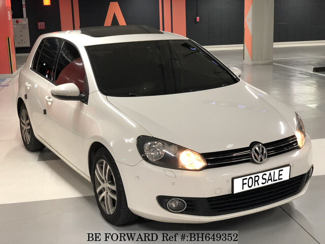 Used 2010 VOLKSWAGEN GOLF BH649352 for Sale