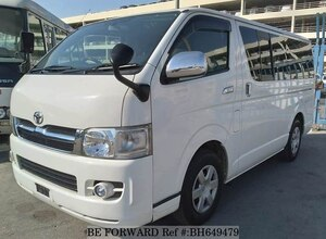 Used 2007 TOYOTA HIACE VAN BH649479 for Sale