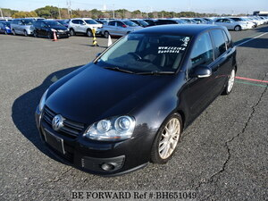 Used 2007 VOLKSWAGEN GOLF BH651049 for Sale