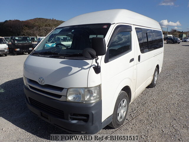 Used 2008 TOYOTA HIACE VAN BH651517 for Sale