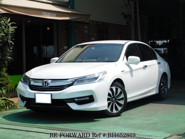 Used 2017 HONDA ACCORD HYBRID BH652869 for Sale