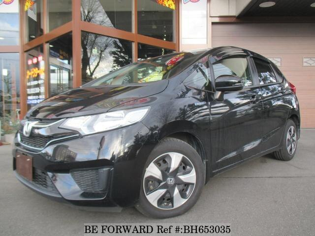 Used 2016 HONDA FIT HYBRID BH653035 for Sale