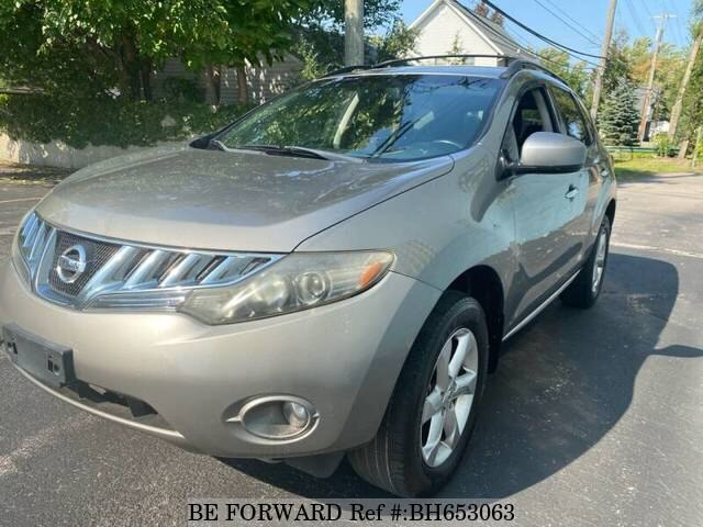 Used 2009 NISSAN MURANO BH653063 for Sale