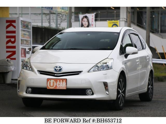 Used 2011 TOYOTA PRIUS ALPHA BH653712 for Sale