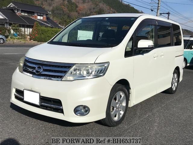 Used 2008 NISSAN SERENA BH653737 for Sale