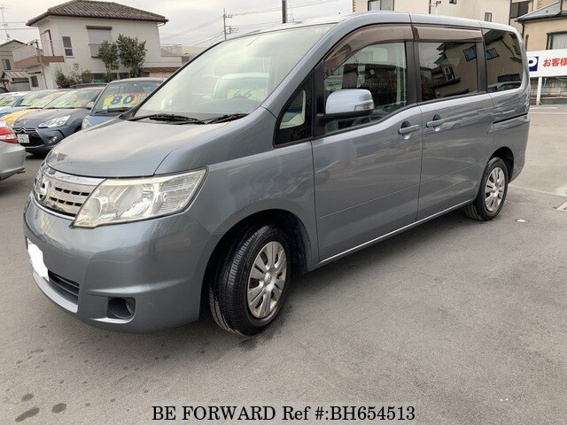Used 2008 NISSAN SERENA BH654513 for Sale