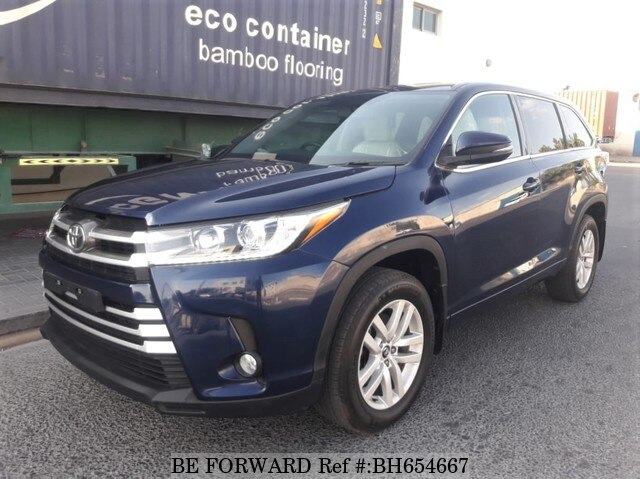 Used 2016 TOYOTA KLUGER BH654667 for Sale